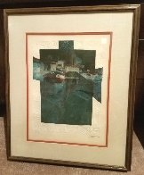Four Seasons: Suite of 4 Lithographs 1979 Limited Edition Print by Sunol Alvar - 5