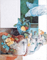 Four Seasons: Suite of 4 Lithographs 1979 Limited Edition Print by Sunol Alvar - 1