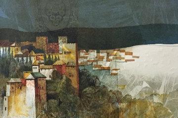El Village Rojo 1963 Limited Edition Print - Sunol Alvar