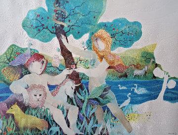 Garden of Eden 1988 Limited Edition Print by Sunol Alvar