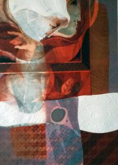 Meditation 1979 Limited Edition Print by Sunol Alvar