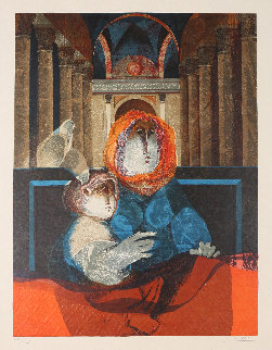 From the Suite Renaixent 1977 Limited Edition Print by Sunol Alvar