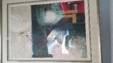 La Caresse 1980 Limited Edition Print by Sunol Alvar