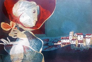 Mon Village Limited Edition Print by Sunol Alvar