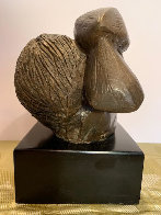 Mujer Con Paloma I 1976 8 in Sculpture by Sunol Alvar - 2
