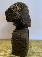 Tete Torero Bronze Sculpture 1976 13 Sculpture by Sunol Alvar - 1