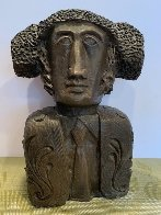 Tete Torero Bronze Sculpture 1976 13 Sculpture by Sunol Alvar - 0