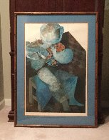 Personnage Assis 1979 Limited Edition Print by Sunol Alvar - 2