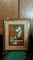 Two Woman With Dove AP 1978 Limited Edition Print by Sunol Alvar - 2