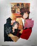 Carmen Act II: Chez Lillas Pastias Limited Edition Print by Sunol Alvar - 1