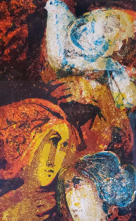 Untitled (Two Women) AP Limited Edition Print by Sunol Alvar