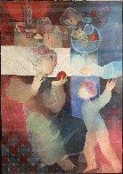 Maternite Du Village Limited Edition Print by Sunol Alvar - 0
