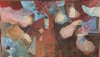Interieur Amb Flors Limited Edition Print by Sunol Alvar - 0
