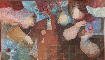 Interieur Amb Flors Limited Edition Print by Sunol Alvar
