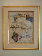 Four Seasons, Suite of 4 Ceramic Wall Sculptures 1980 25 in Sculpture by Sunol Alvar - 6