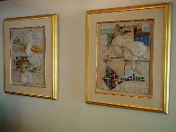 Four Seasons, Suite of 4 Ceramic Wall Sculptures 1980 25 in Sculpture by Sunol Alvar - 8