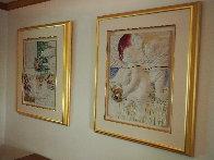 Four Seasons, Suite of 4 Ceramic Wall Sculptures 1980 25 in Sculpture by Sunol Alvar - 9