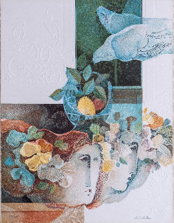 Four Seasons Suite of 4 Prints Limited Edition Print by Sunol Alvar
