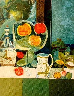 Still Life With Fruit EA Limited Edition Print - Sunol Alvar