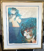 Susanna and the Elders 1981 Limited Edition Print by Sunol Alvar - 1