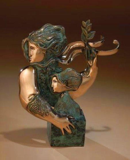 Maternitat Bronze Sculpture 2010 12 in Sculpture by Sunol Alvar