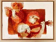 Commenca La Musica 1978 Limited Edition Print by Sunol Alvar - 2