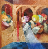 Musical Renaixent Original Oil  59.5 x59.5 Original Painting by Sunol Alvar - 0