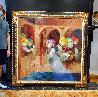 Musical Renaixent Original Oil  59.5 x59.5 Original Painting by Sunol Alvar - 2