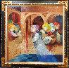 Musical Renaixent Original Oil  59.5 x59.5 Original Painting by Sunol Alvar - 1