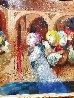 Musical Renaixent Original Oil  59.5 x59.5 Original Painting by Sunol Alvar - 3