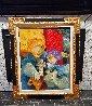 Untitled Painting  1996 35x41.5 Original Painting by Sunol Alvar - 1