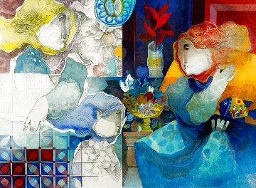 Contemplation De Un Pasado Limited Edition Print - Sunol Alvar