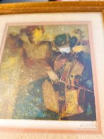 Musicians 1970 Limited Edition Print by Sunol Alvar - 1