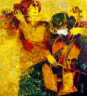 Musicians 1970 Limited Edition Print by Sunol Alvar - 0