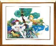 Garden of Eden 1988 Limited Edition Print by Sunol Alvar - 1