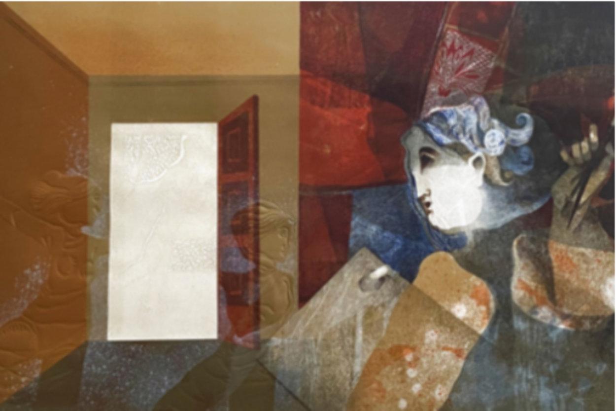 L'Inspiration Huge 44x38 Limited Edition Print by Sunol Alvar