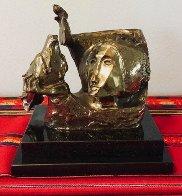 La Paloma Bronze Sculpture 1989 Sculpture by Sunol Alvar - 1