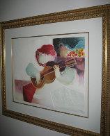 Guitarra Musical 1996 Limited Edition Print by Sunol Alvar - 1