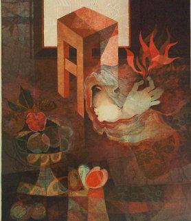 Espirit Du Village Limited Edition Print by Sunol Alvar