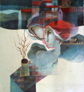 Winter, From the Four Seasons Suite Limited Edition Print by Sunol Alvar