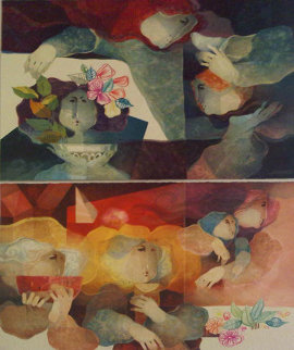 Rationalism And Humanism Suite of 2 Limited Edition Print by Sunol Alvar