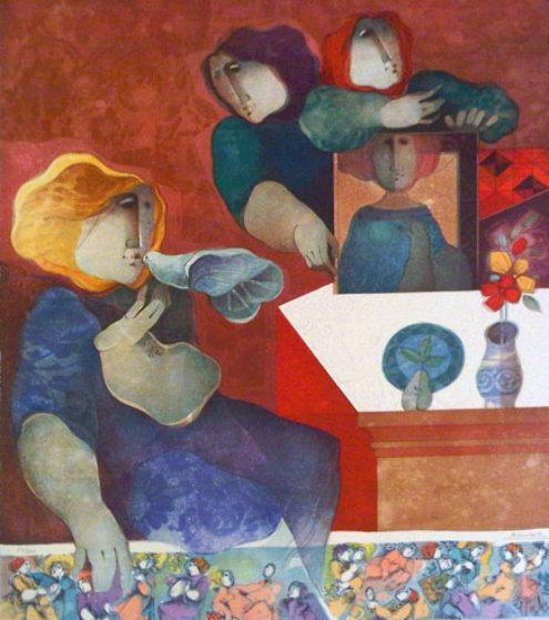 Contemplacion De La Image Limited Edition Print by Sunol Alvar
