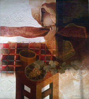 Fall From the Four Seasons Suite Limited Edition Print - Sunol Alvar