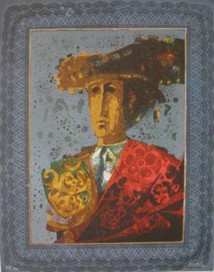 Toreador II Limited Edition Print by Sunol Alvar