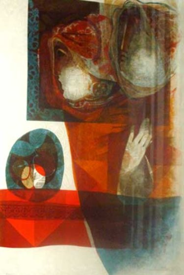 Untitled Lithograph 1978 Limited Edition Print by Sunol Alvar