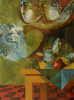 Untitled Lithograph Limited Edition Print - Sunol Alvar