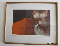 Untitled Lithograph 1984 Limited Edition Print by Sunol Alvar - 1