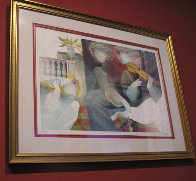 Les Balustrades Suite of 2 1985 Limited Edition Print by Sunol Alvar - 2