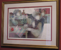 Les Balustrades Suite of 2 1985 Limited Edition Print by Sunol Alvar - 3