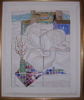 Four Seasons Suite of 4 Ceramics 1980 (Rare) Sculpture by Sunol Alvar - 3